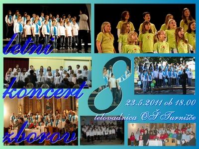 Vabilo na 8. letni koncert zborov