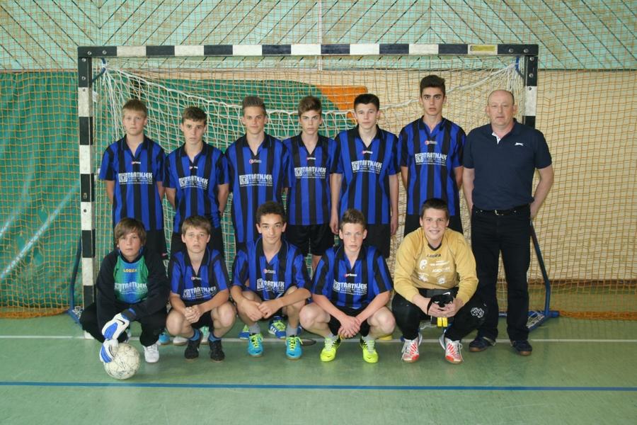 2014 Starejši dečki državni prvaki v nogometu
