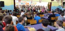 Video – Petje pesmi Čebelar na OŠ Turnišče